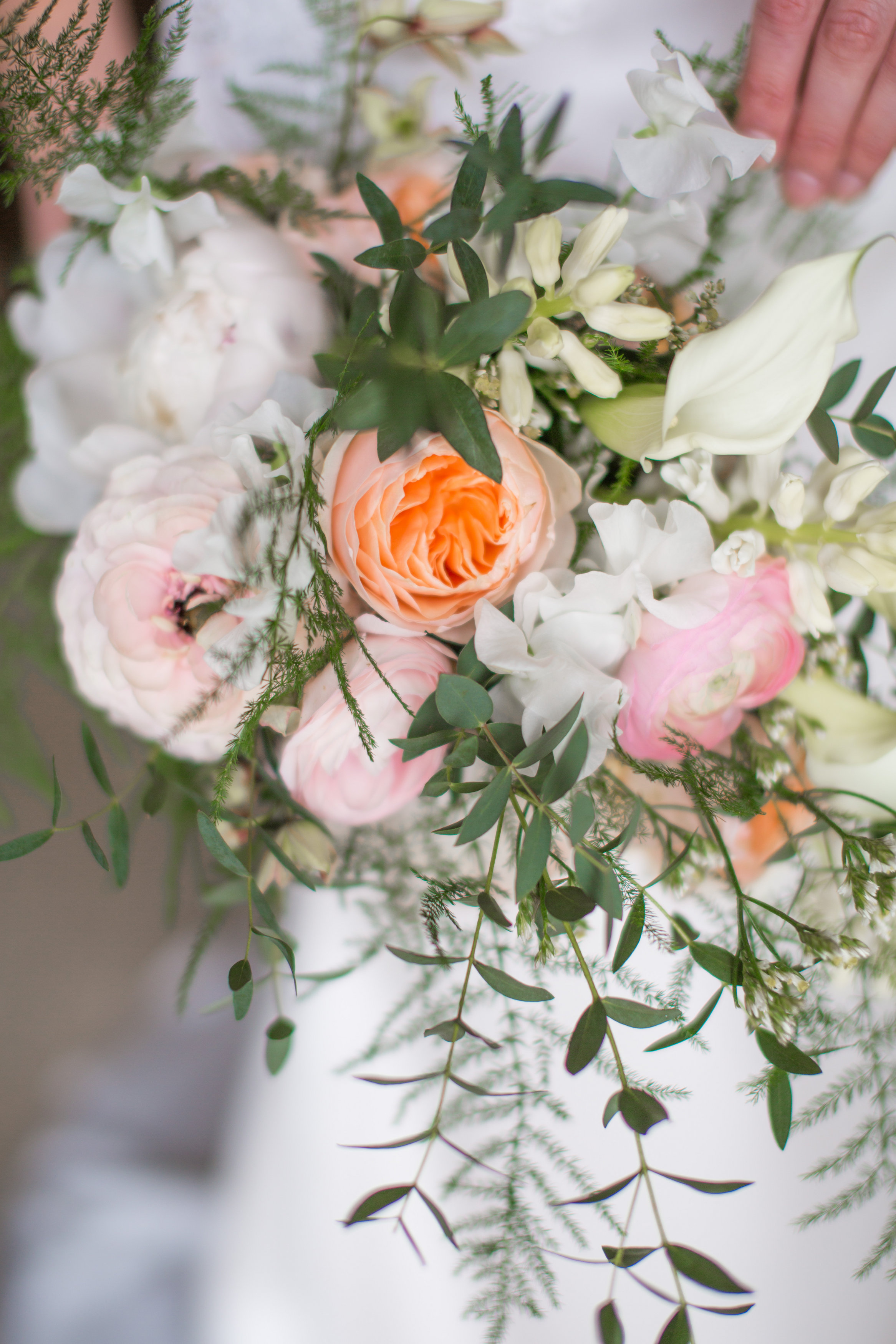 Summer Garden Wedding Flowers Ireland. By Lamber De Bie